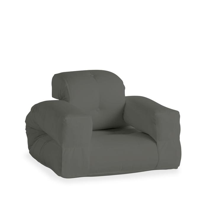 Hippo OUT lænestol, mørkegrå (403) fra Karup Design