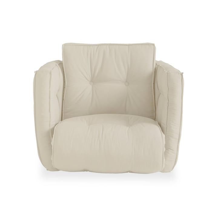 Dice futon lænestol med sovefunktion, beige (747) af Karup Design