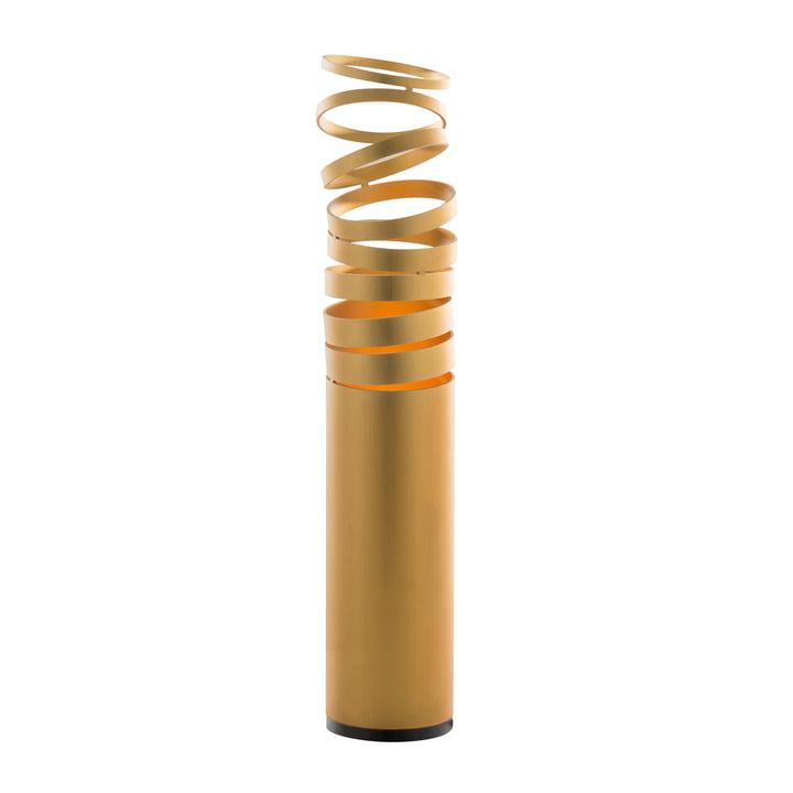 Decomposé bordlampe fra Artemide i guld