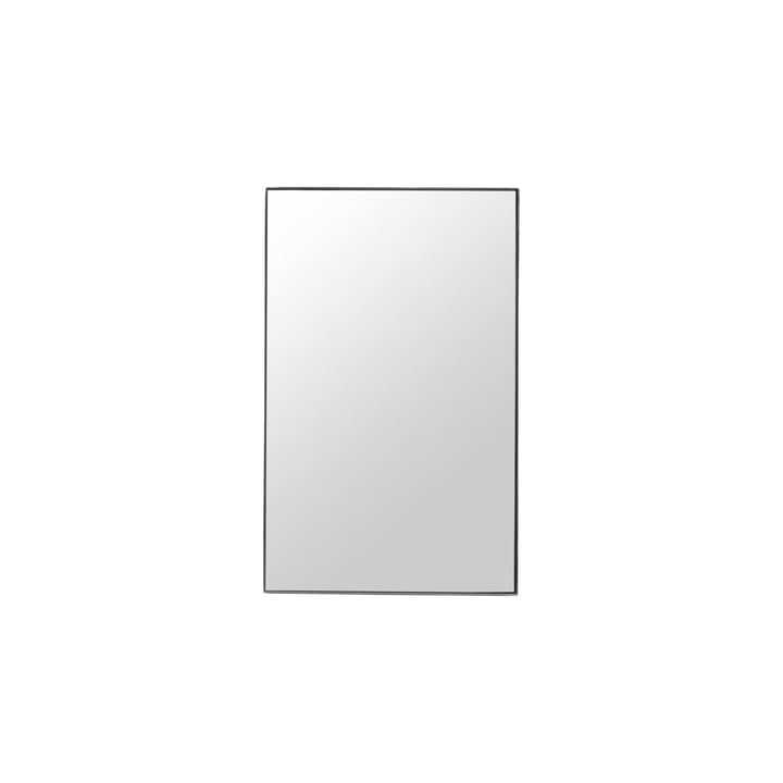 Spejl med ramme, Raw, 50 x 80 cm, sort ramme af House Doctor