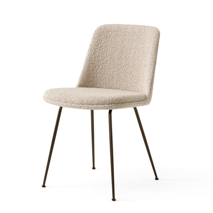 Rely Chair HW9, bronzestål / Karakorum 003 af & tradition