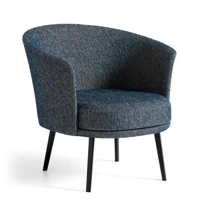 Dorso lænestol, pulverlakeret stål, fairway mørkeblå (308-288) fra Hay