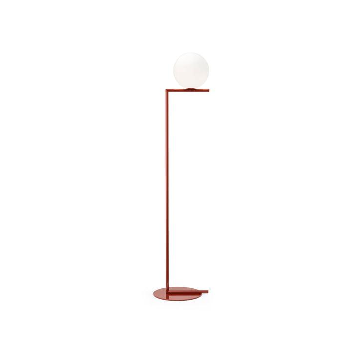 IC F1 BRO gulvlampe, burgunderrød fra Flos