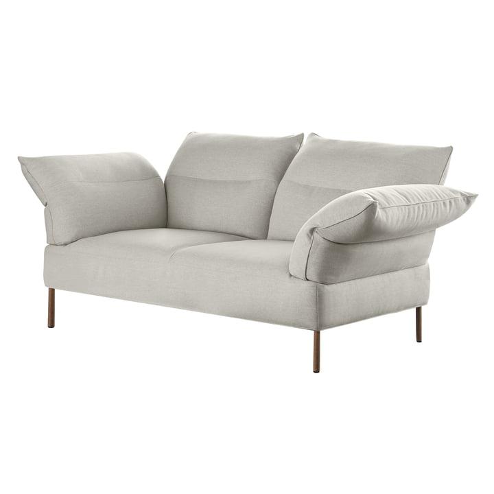 Pandarine sofa, 3-pers., Justerbare armlæn, valnød olieret, Mode 9 fra Hay