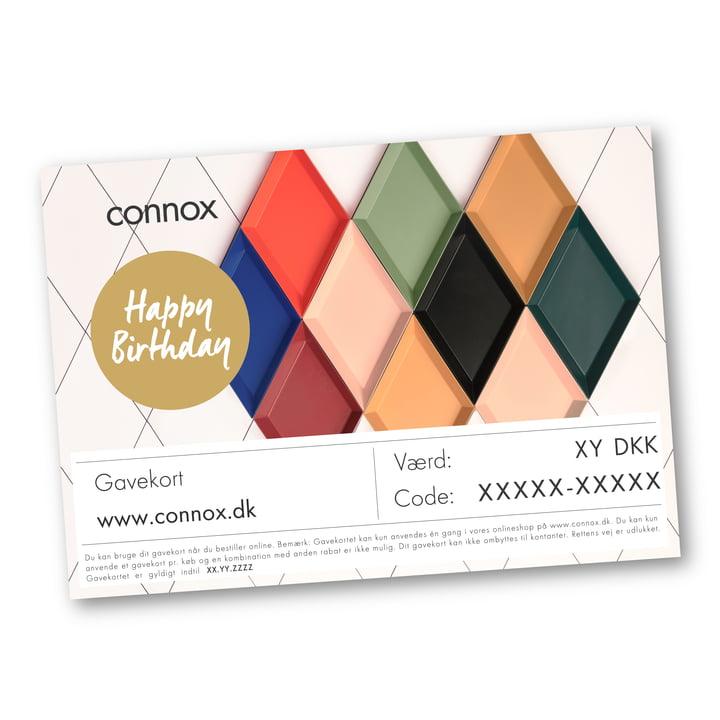 Gavekort: fødselsdag