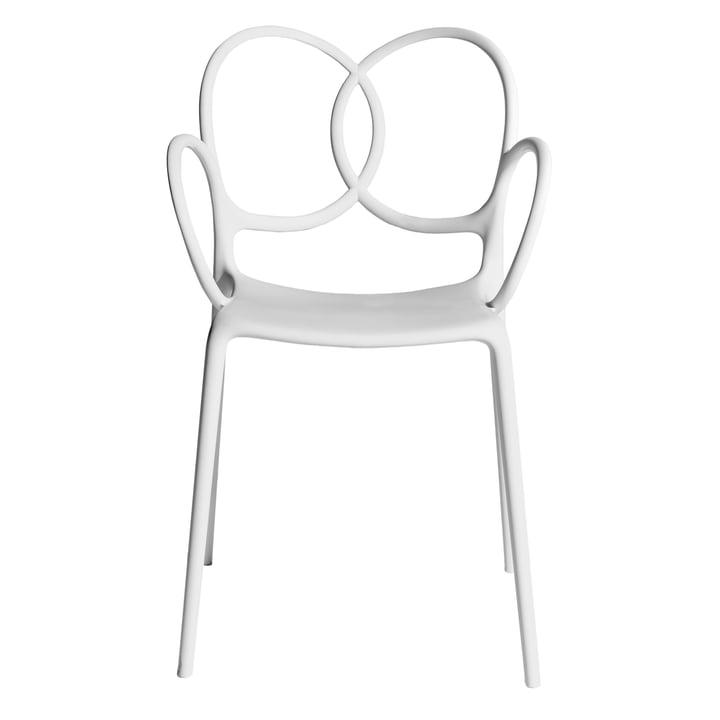 Sissi lænestol, hvid af Driade