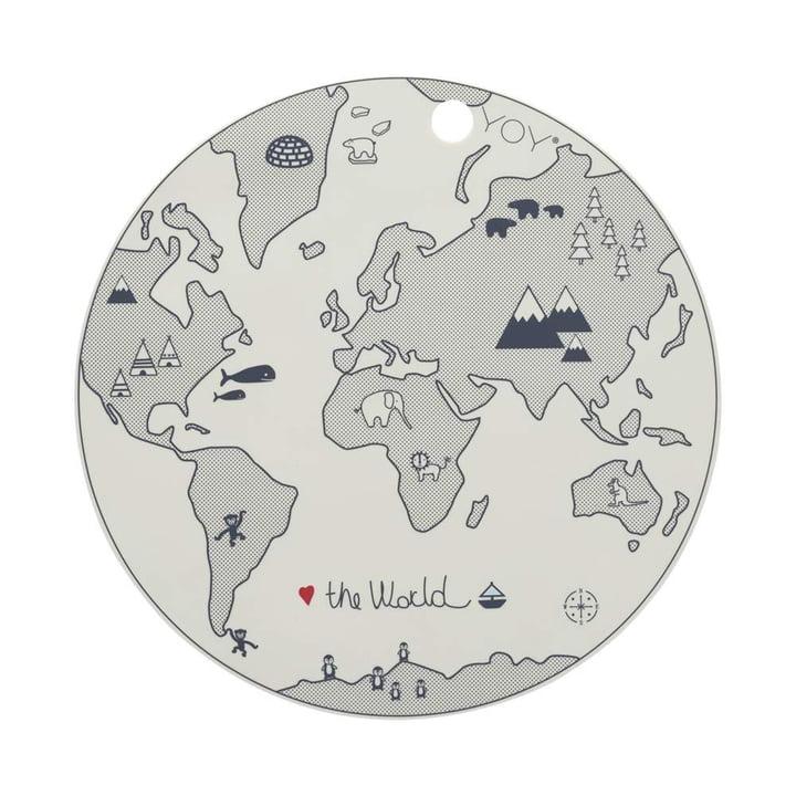 World, Ø 39 cm, off-white af OYOY