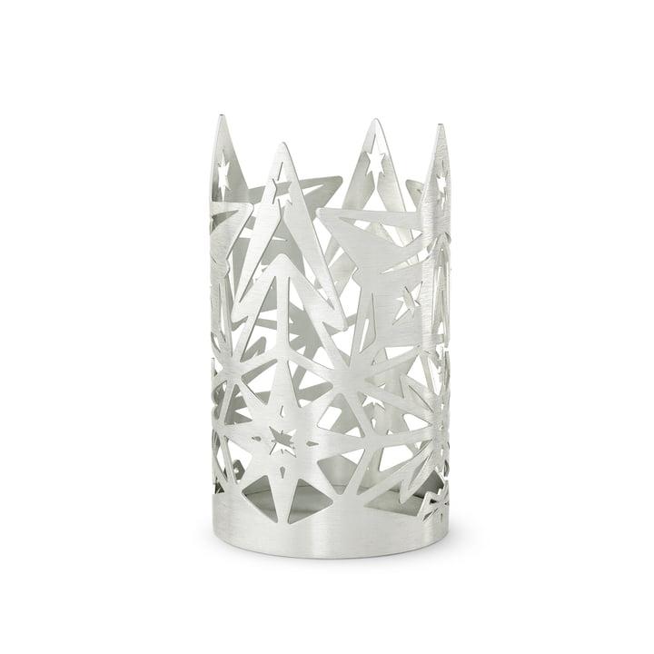 Karen Blixen lysestage, H 13,5 x Ø 8 cm, sølv af Rosendahl