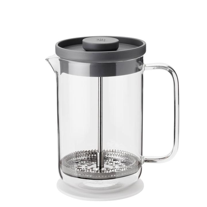 Brew-It pressefilterkande 0,8 l, gennemsigtig / grå fra Rig-Tig fra Stelton