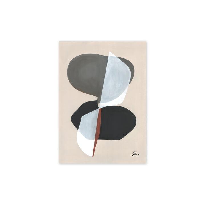 The Composition 01 plakat, 30 x 40 cm fra Paper Collective