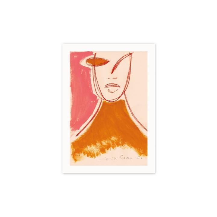 Den Pink Portrait, 30 x 40 cm fra Paper Collective