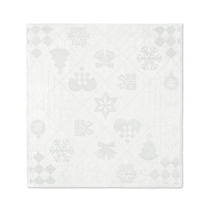 Natale servietter, 45 x 45 cm, off-white af Juna