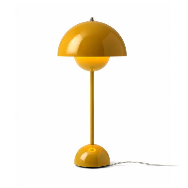 &tradition – FlowerPot VP3 bordlampe, sennep