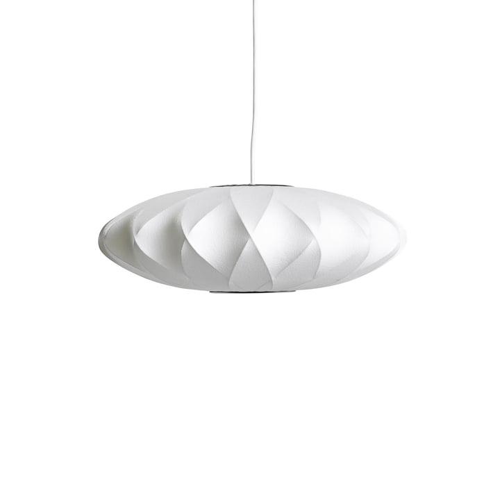Nelson Saucer Crisscross Bubble Pendant Lamp S, Ø 4 4. 5 x H 19 cm, hvidhvid af Hay