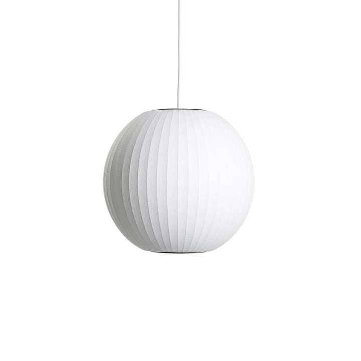 Nelson Ball Bubble Pendant Lamp S, Ø 3 2. 5 x H 30.5 cm, offwhite af Hay