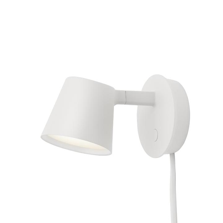 Tip væglampen fra Muuto i hvid
