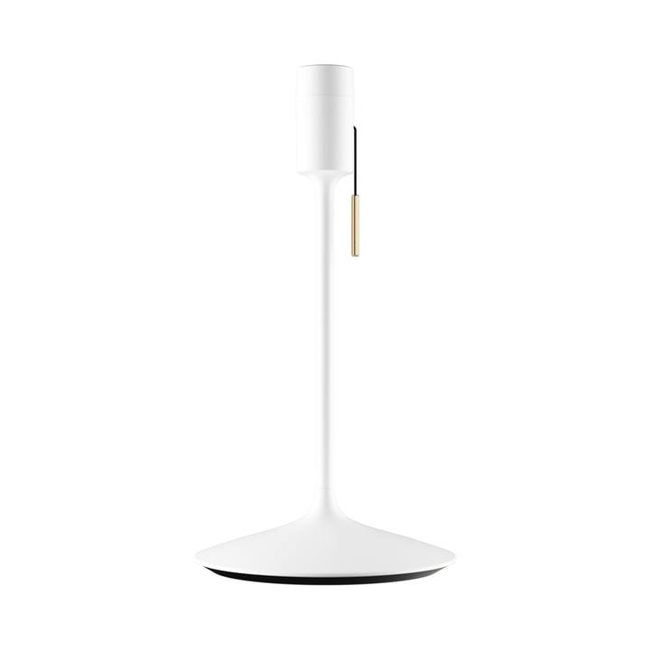 Champagne bordlampe base H 42 cm af Umage i hvidt