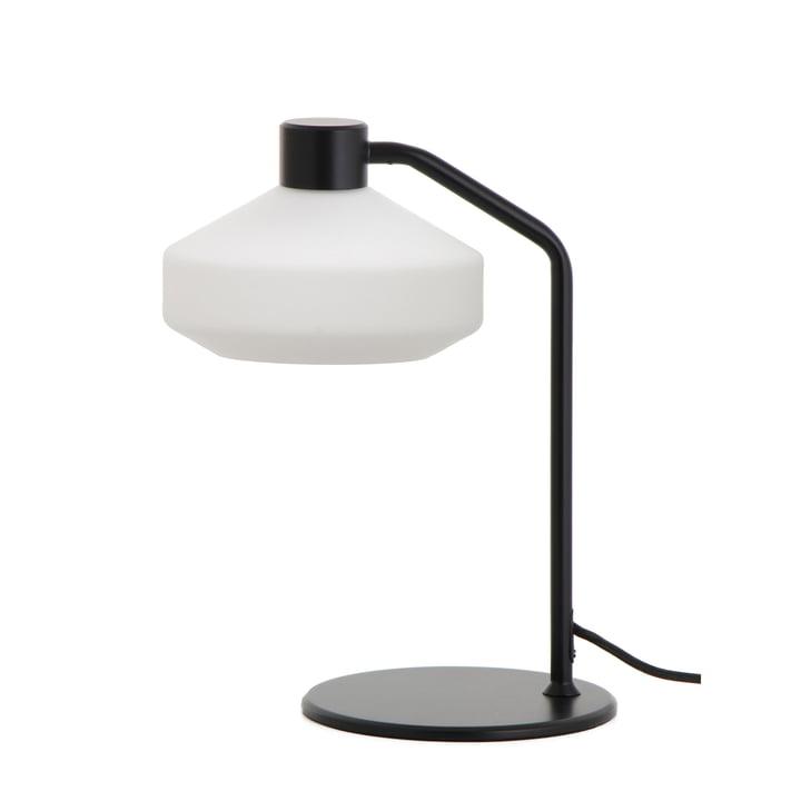 The Mayor bordlampe fra Frandsen i sort mat / opal hvid