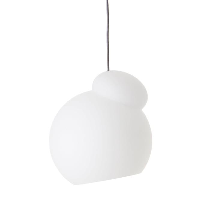 Air pendel fra Frandsen i Ø 22 cm, opal hvid
