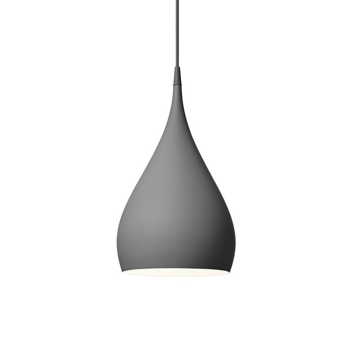Spinning vedhængslampe BH1 Ø 25 cm af & tradition i mørk matgrå