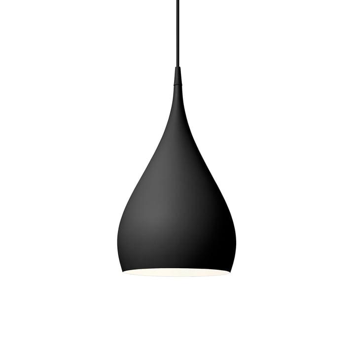 Spinning vedhængslampe BH1 Ø 25 cm af & tradition i mat sort