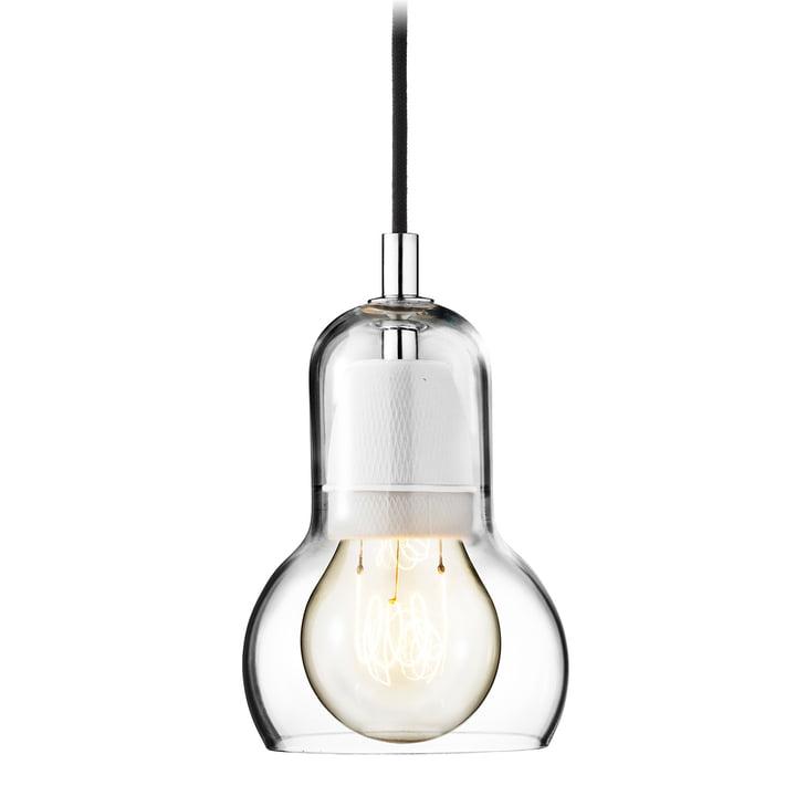 & Tradition - Bulb pendel, SR1, klar, sort strømkabel