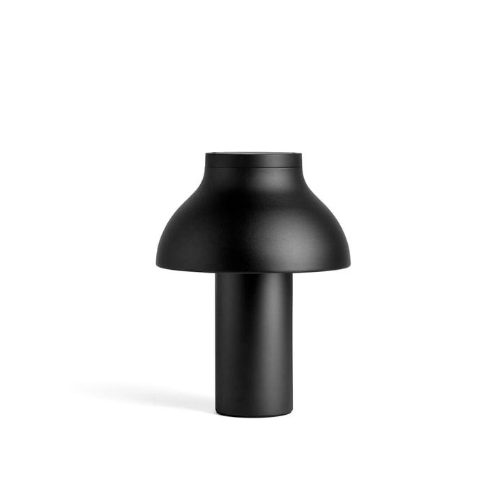 PC bordlampe S, Ø 25 x H 33 cm, blød sort af Hay