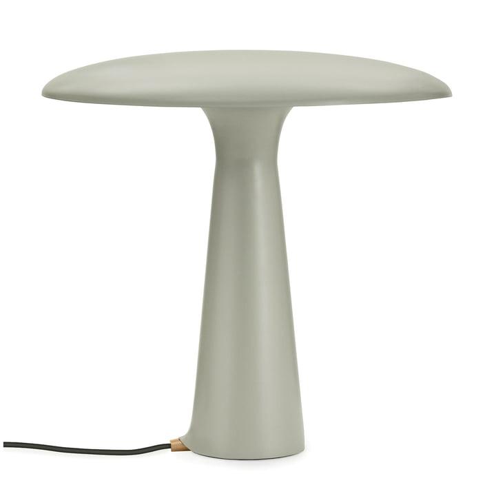 Shelter bordlampe fra Normann Copenhagen lavet af kalksten