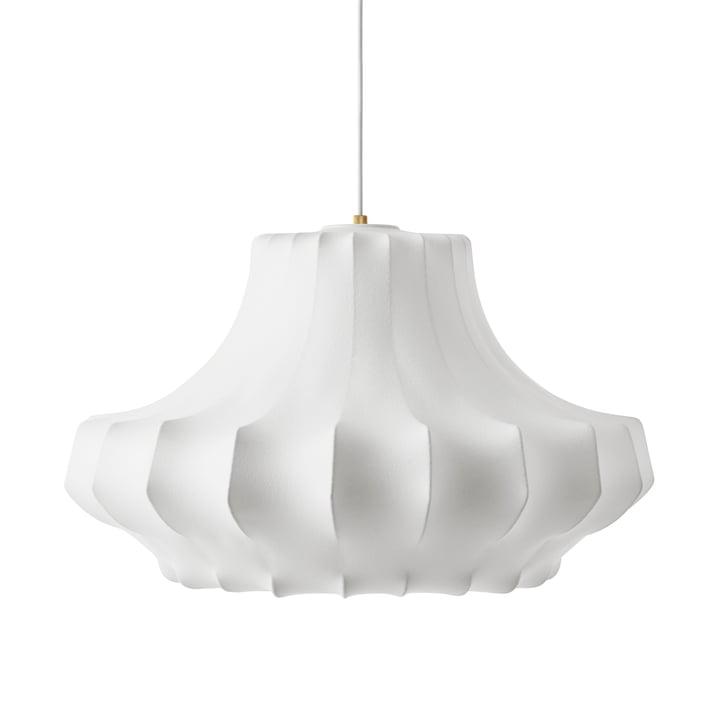 Fantom vedhængslampe medium Ø 80 x H 44 cm af Normann Copenhagen i hvidt