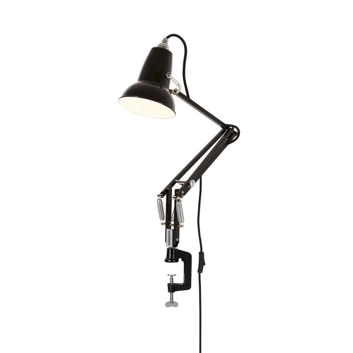 Original 1227 Mini klemlampe, jet sort af Anglepoise