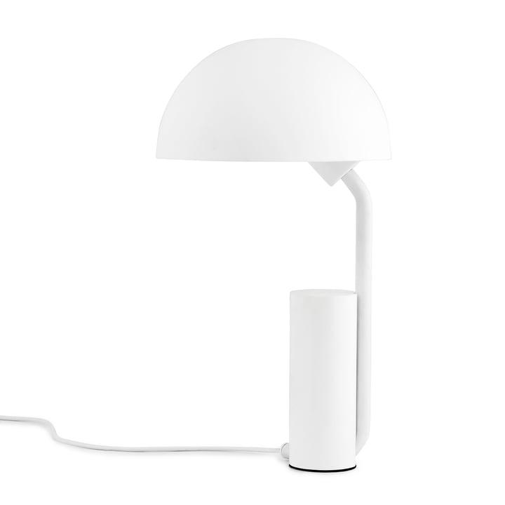 Cap bordlampe fra Normann Copenhagen i hvid