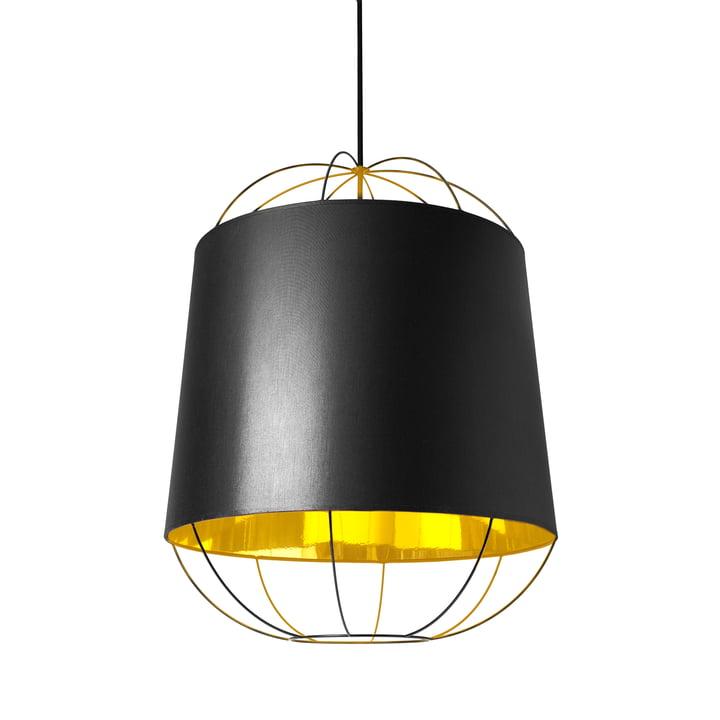 Lanterna pendel, medium fra Petite Friture i sort/guld