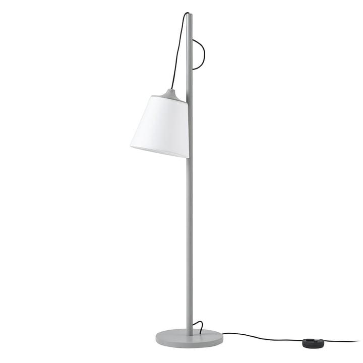 Træk gulvlampe fra Muuto i grå / hvid