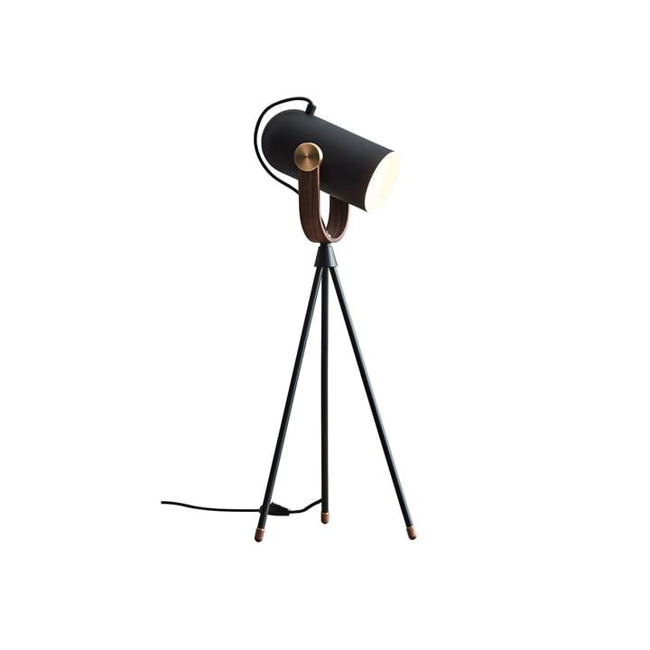 Carronade højbordslampe fra Le Klint i sort