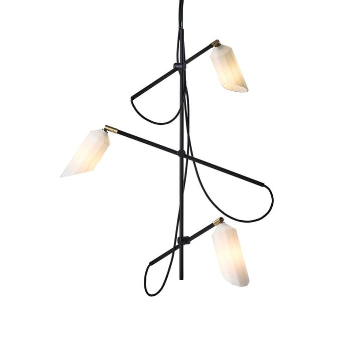 Pliverré lysekrone af Le Klint i sort / hvid