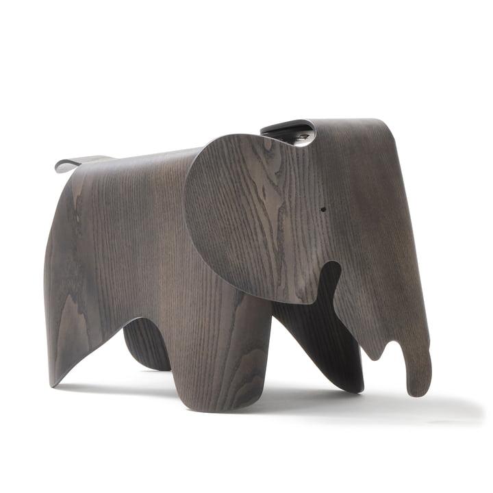 Eames Elephant Krydsfiner, ask, grå bejdset (7 5. Jubilæumsudgave) af Vitra