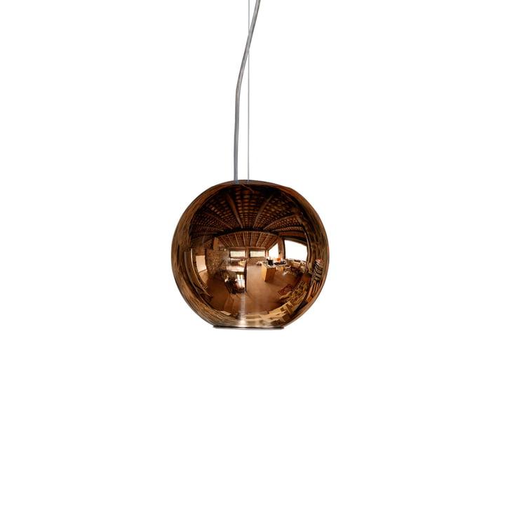 Globo di Luce pendel på Ø 20 x 19 cm fra FontanaArte i kobber
