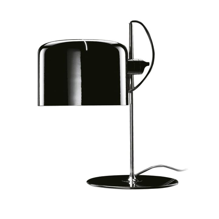 Oluce – Coupé 2202 bordlampe, sort
