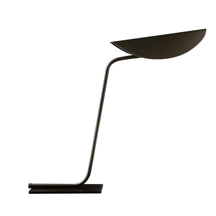 Plume bordlampe, bronze fra Oluce