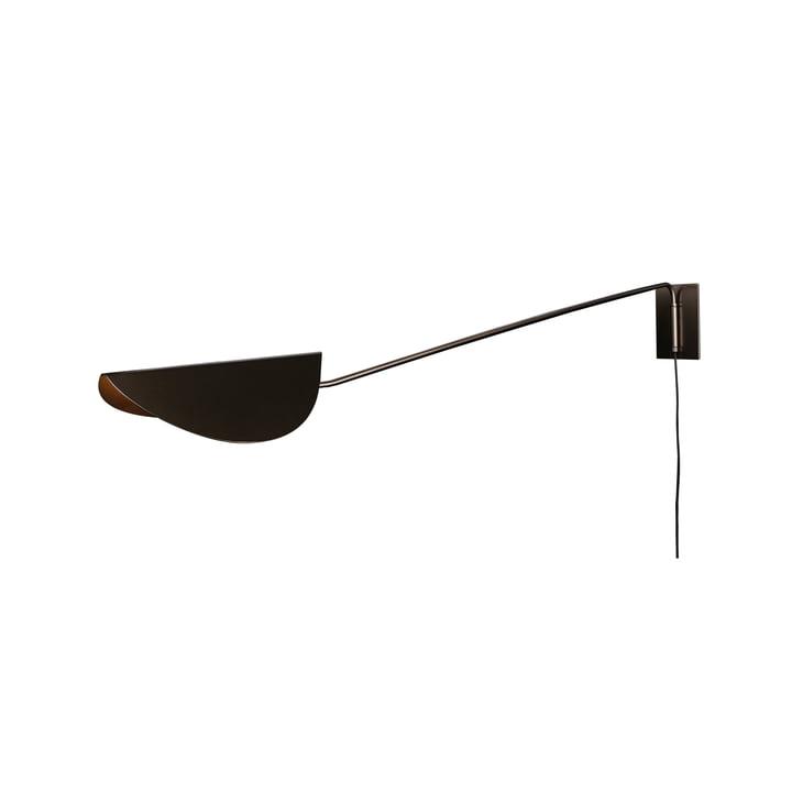 Plume væglampe 80 cm, bronze fra Oluce