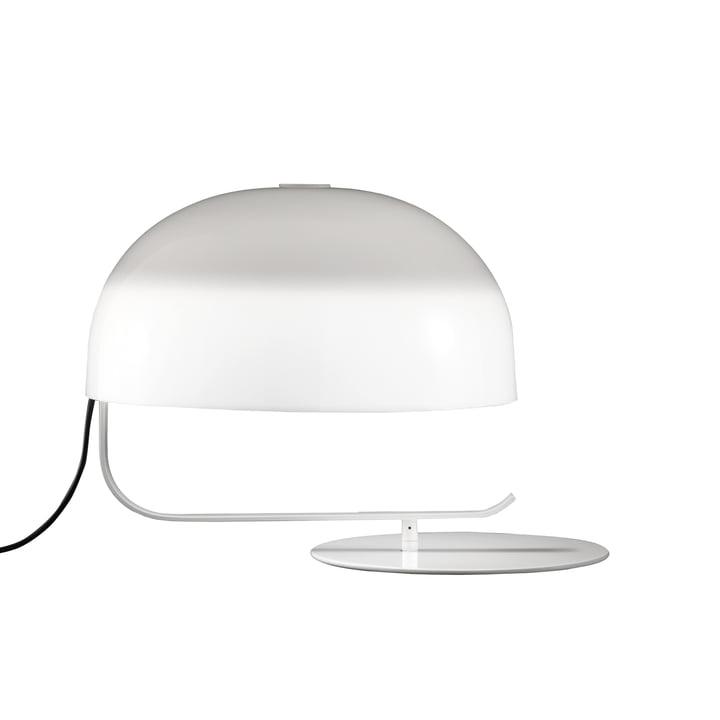 Zanuso bordlampe, hvid fra Oluce