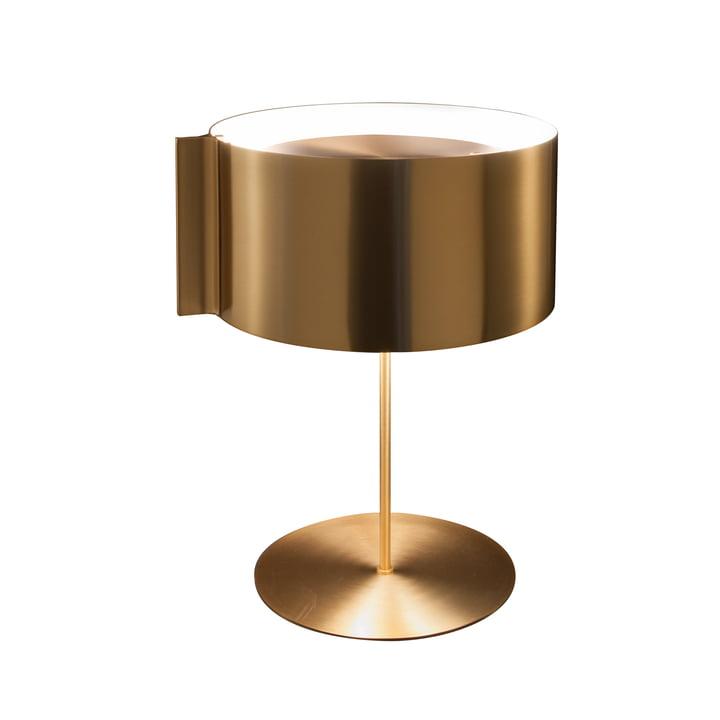 Switch bordlampe, guld fra Oluce