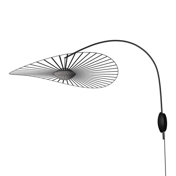 Vertigo Nova væglampe fra Petite Friture, Ø 110 cm, sort