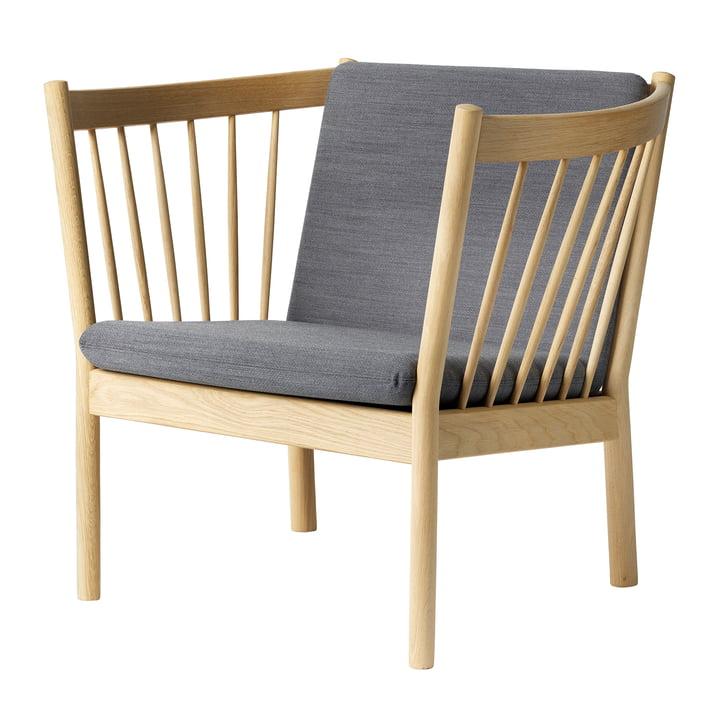 J146 lænestol af FDB Møbler i naturlig eg / Gabriel Crisp