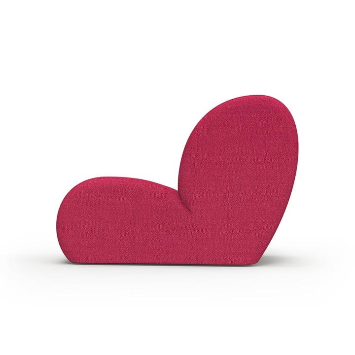 Levi lounge stol fra Objekte unserer Tage i pink, Kvadrat Atlas