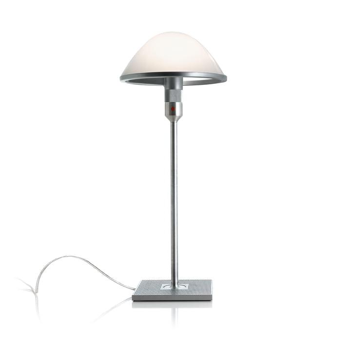 Mirandolina D60pi. Bordlampe af Luceplan i aluminium / opalglas
