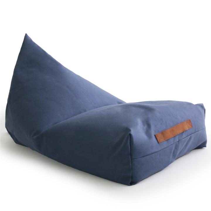Oasis børns sækkestol fra Nobodinoz i aegean blue