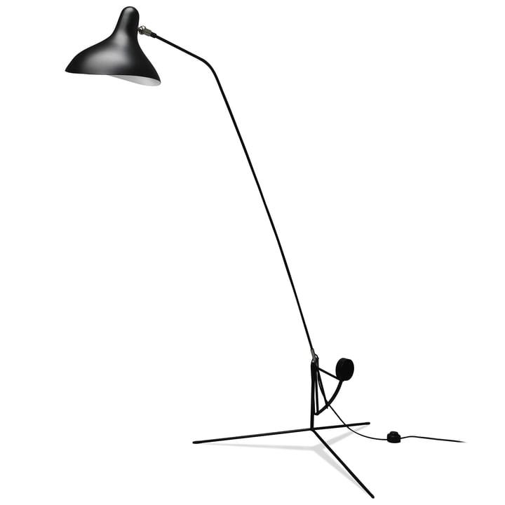 Mantis BS1 gulvlampe, sort af DCW