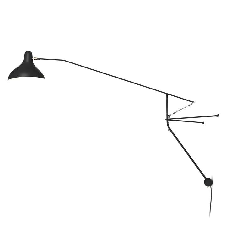 Mantis BS2 væglampe, sort af DCW