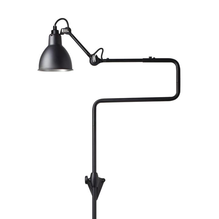 Lampe Gras No 217 væglampe, sort / sort fra DCW